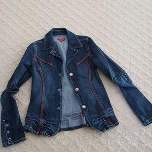 Adorable fashionable jean jacket